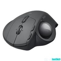 Logitech mx ergo sem fio trackball mouse 2.4g sem fio bluetooth personalizado conforto recarregável massa