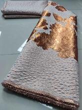 Latest Jacquard Brocade Lace Fabric Top Selling African Tulle Lace Fabric Brocade Fabric for Nigerian Wedding Party KJK20132