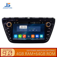 JDASTON 2DIN Android 9.0 Car DVD Player For Suzuki SX4 S Cross 2013 2014 2015 2016 Multimedia GPS Radio Stereo 4G+64G Octa Cores