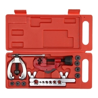 Kupfer Brems Fuel Rohr Reparatur Doppel Abfackeln Stirbt Werkzeug Set Clamp Kit Rohr Cutter Handwerkzeug-Sets    -