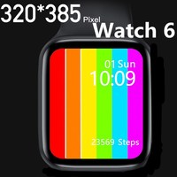 2020 IWO 13 Series 6 iwo w26 Smart Watch Bluetooth call Music Player ECG 44MM For Apple IOS Android phone Heart Rate PK IWO 12 8