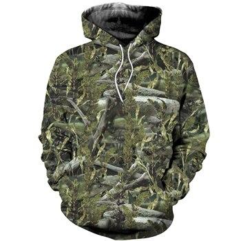Fishing Camo hoodie unisex