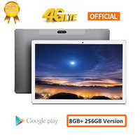 CARBAYTA 10.1Inch Android 8.0 Tablet Helio X20 Deca Core 8GB RAM 256GB ROM 4G Network Tablets PC 13.0MP Docking Type-C 8000mAh
