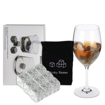Kamienie do whisky s zestaw 9 granitowe whisky Chill Rocks z aksamitną torbą kamienie do whisky kostki kamienie do wina wielokrotnego użytku chłodziarki do wina chillery tanie i dobre opinie CN (pochodzenie) Chłodnic wina i agregatów Z tworzywa sztucznego
