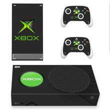 Custom Design Skin Sticker Decal Cover for Xbox Series S Console and 2 Controllers Xbox Series Slim Skin Sticker Vinyl