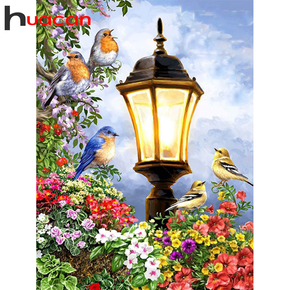 Huacan 5д алмазная вышивка полная выкладка распродажа алмазная мазайка картина стразами цветы декор для дома