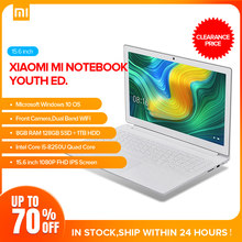 Original Xiaomi Mi Notebook 15.6inch Win10 Home Intel Core i5-8250H Quad Core 8GB RAM 128GB SSD 1TB HDD Dual WiFi 1080P FHD IPS(China)