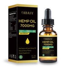 7000mg CBD Organic Hemp Seed Extract Hemp Seed Oil Bio-active Drop for Pain Reli