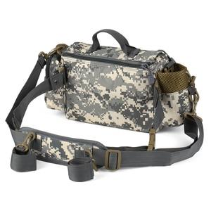 Image 4 - Fishing Gear Bag Multifunctional Fishing Tackle Bag Waist Bags Boat Bags Pouch Case for Fishing Gear Bags Fish Bag Rod
