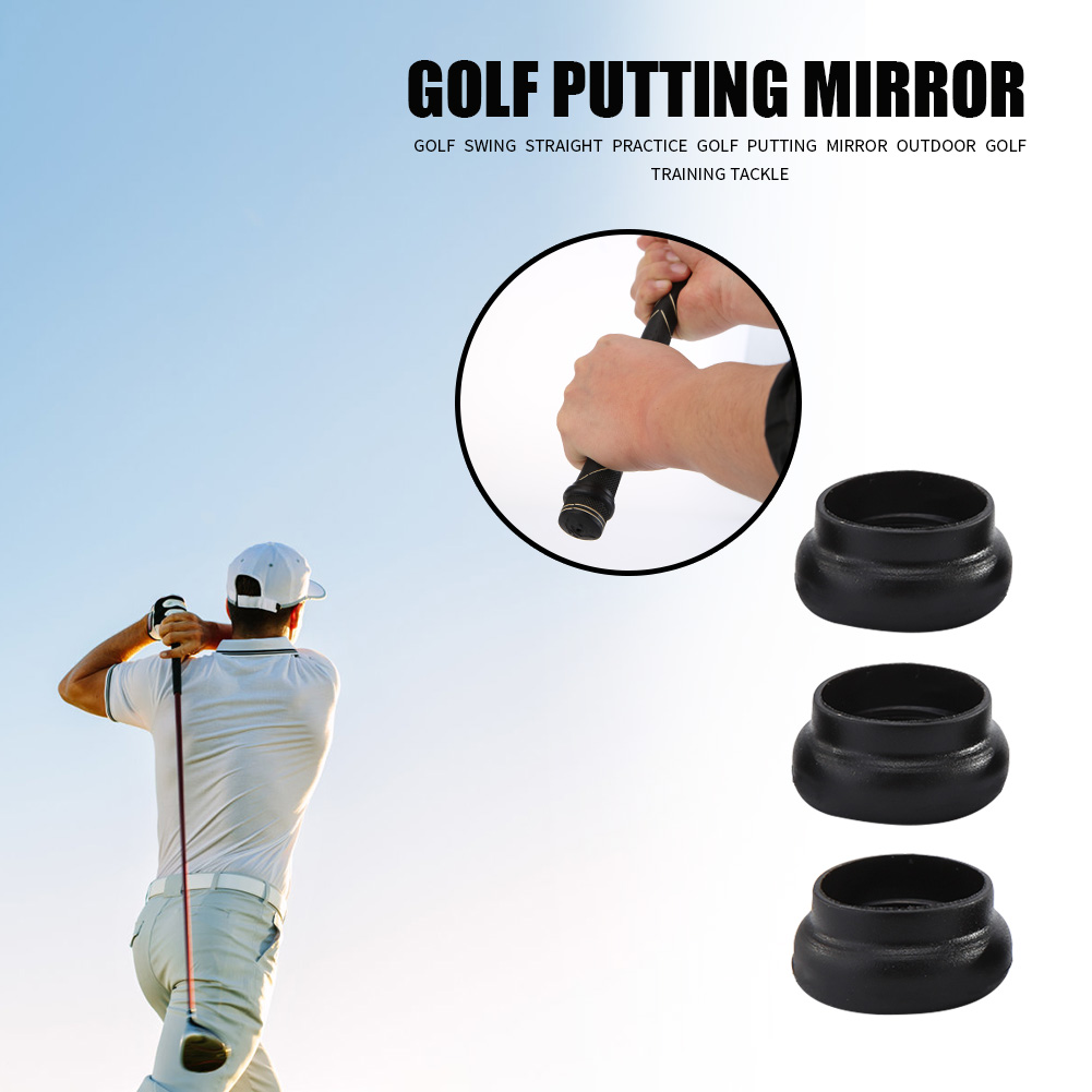 3pcs Golf Power Rings Prevent Slipping Accessory Synthetic Rubber Golf Ball Grip Positioning Rubber Ring To Prevent Falling Off