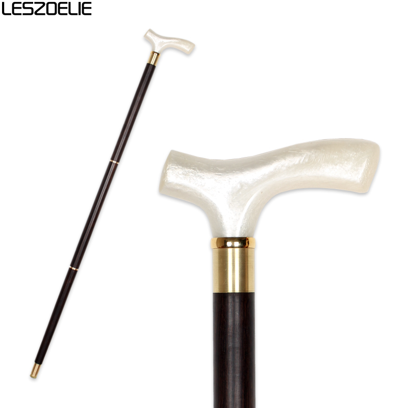 Resin Handle Luxury Wooden Walking Stick Men Decorative Canes Women Fashion Elegant Walking Stick Vintage Walking Canes