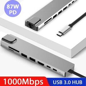 USB HUB Type c to HDMI 4K USB