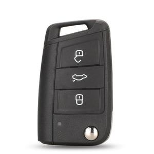 Image 2 - Kutery Originele Auto Flip Mqb Afstandsbediening Autosleutelzakje 433Mhz Id48 5G0959753BA/52BA Voor Vw Mqb Golf Vii MK7, skoda Octavia A7 2017