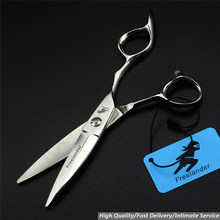 high-end hairdressing scissors big knife willow scissors child hair care scissors salon scissors(China)
