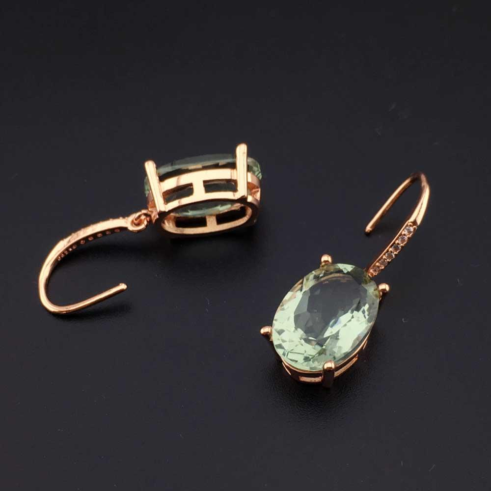 Купить ffgems натуральный зеленый кристалл большой камень стерлинговое
