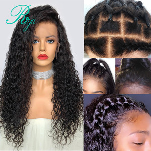 Image 3 - Fake Scalp 150% 13x6 Short Curly Lace Front Human Hair Wigs Pre Plucked With Baby Hair Brazilian Remy Bob Wigs For Black Women