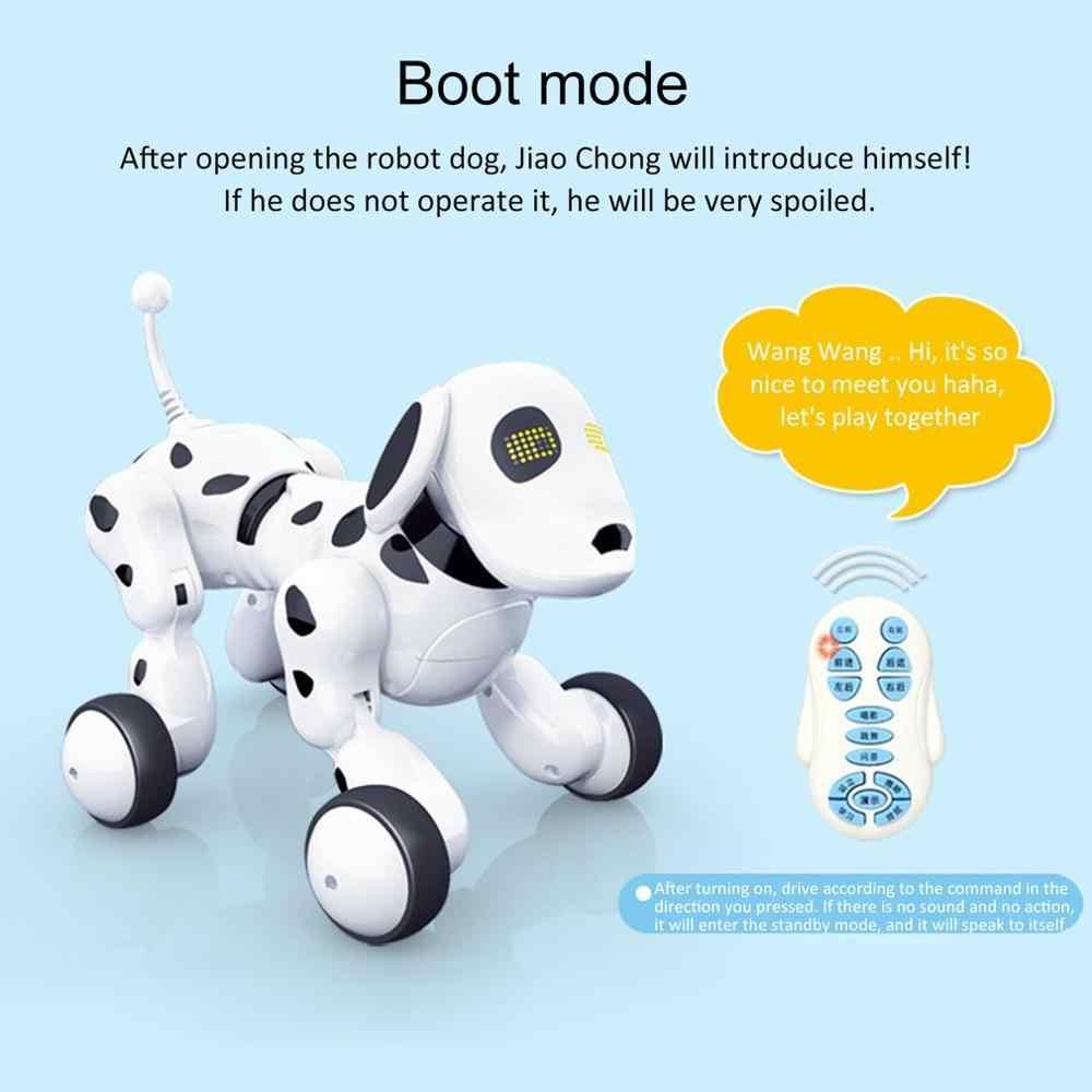 적외선 원격 제어 로봇과 귀여운 스마트 개 노래 댄스 워킹 전자 스마트 개 키즈 완구 선물