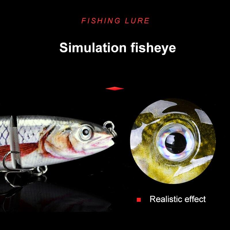 de pesca com 6 ganchos lifelike duro isca finshing acessorio x85 05