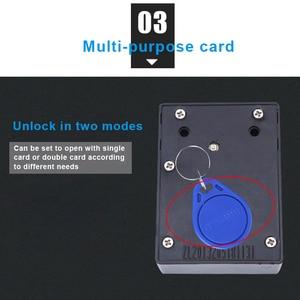 Image 4 - قفل ذكي لخزانة درج الاستشعار الذكية التعريفي خزانة باب خزانة ملابس قفل VDX99