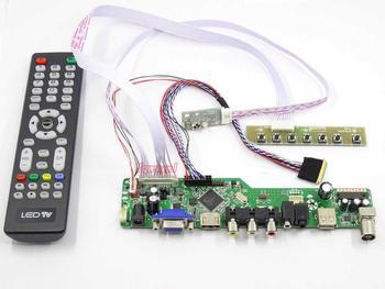 Zestaw Yqwsyxl do LP133WX3-TLA2 LP133WX3-TLA3 TV + HDMI + VGA + AV + USB LCD kontroler ekranu LED płyta sterownicza