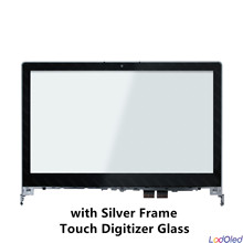 Montaje de pantalla LCD de 14,0 pulgadas para Lenovo Flex 2 14 20404 Flex 2 14D 20376 FHD, Panel digitalizador de pantalla táctil de cristal + marco