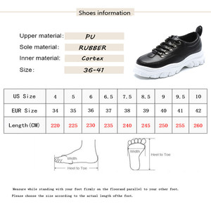 Image 5 - MBR FORCE Genuine Leather Sneakers Women Flat Platform Shoes Autumn Breathable mesh women Thick bottom shoes