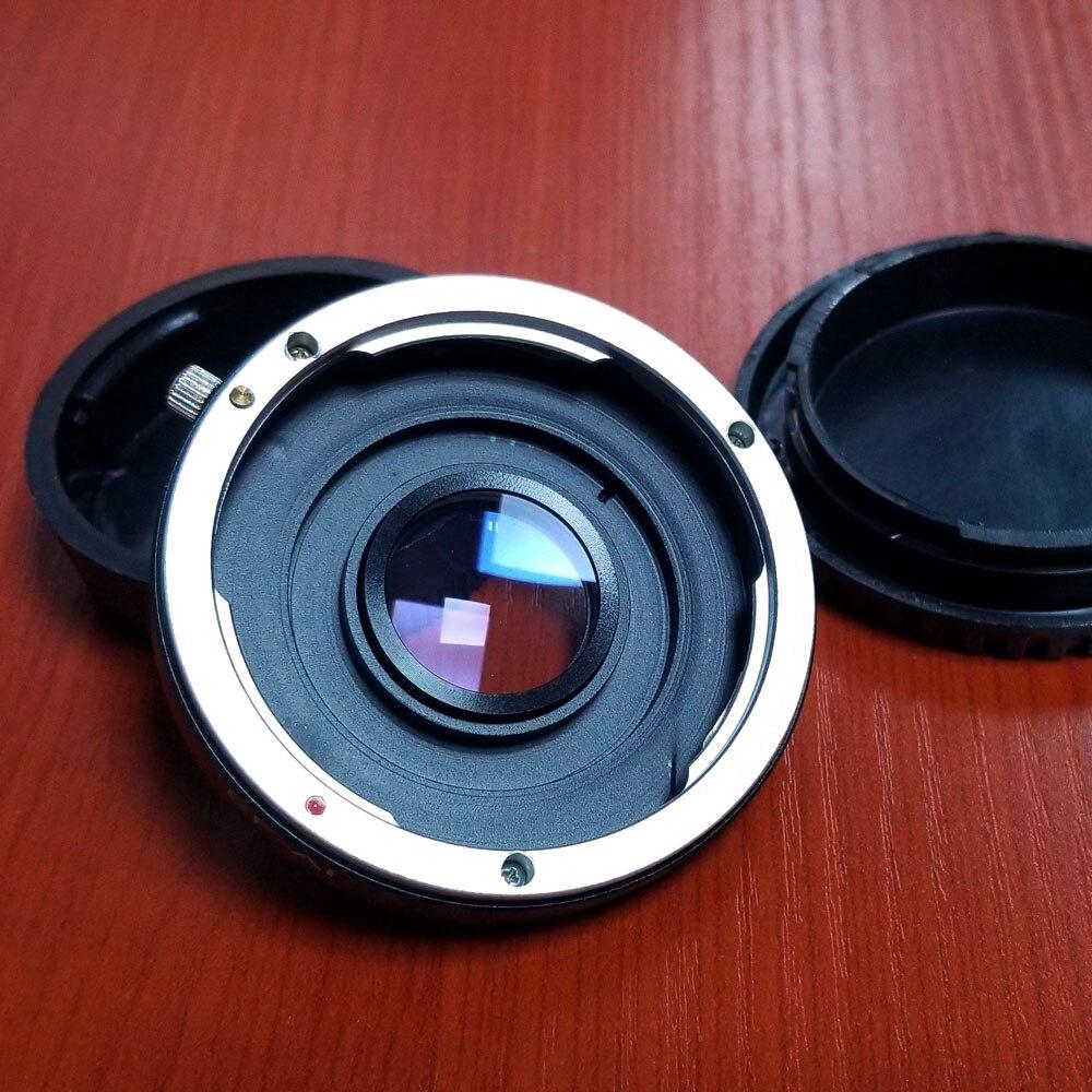 Металлический адаптер объектива камеры кольцо со стеклом для Canon EF Объектив EFS для Nikon D3400 D3300 D5500 D5300 D7200 D750 D810 D4 DSLR камеры