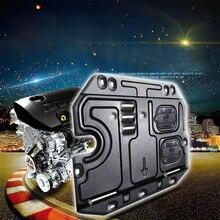 Lsrtw2017 для MG ZS пластиковая стальная крышка двигателя автомобиля Защита