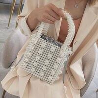 Top Pearl Bag Women Handbags Evening Bag Clutches Wedding Party Tote Purse Fashion Casual Sweet Girls Lady Coin Cosmetic Handbag