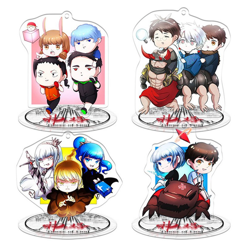 Anime Tower Of God Display Stand Figure Model Plate Holder Japanese Cartoon Figure Fans Collection Cosplay Gift Stationery
