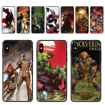 Cartoon Hero Justice Alliance For Galaxy A70 A71 A70E A5 A6 A7 A8 A10 A10S A20 A20S A20E A21S A30S A40 A50 2017 2018 Black Soft image