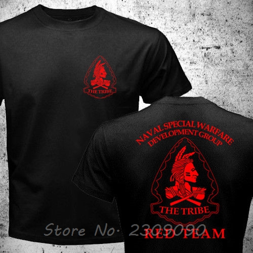 Футболка Nswdg мужская хлопковая, Повседневная рубашка с принтом спецназа, снайперская сборная команда, красный цвет, в стиле Харадзюку