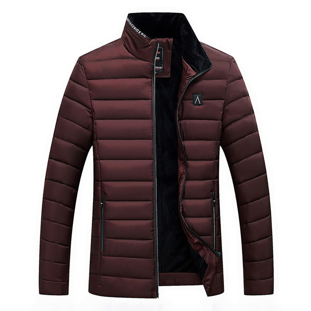 Men's High Quality Thick Warm Brand Coat