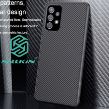 Nillkin Case Voor Samsung Galaxy A72 A52 Carbon Fiber Protector Cover Shell