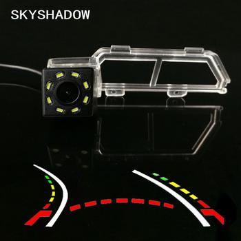Dla Toyota Verso 2011 + bezprzewodowy samochód CCD tylna kamera Fisheye 4 8 12 led dynamiczny noktowizor uchwyt wodoodporna kamera parkowania tanie i dobre opinie SKYSHADOW Plastikowe + Szkło wireless Drutu Tył ACCESSORIES Z przodu Front Side Pojazd backup kamery Z tworzywa sztucznego