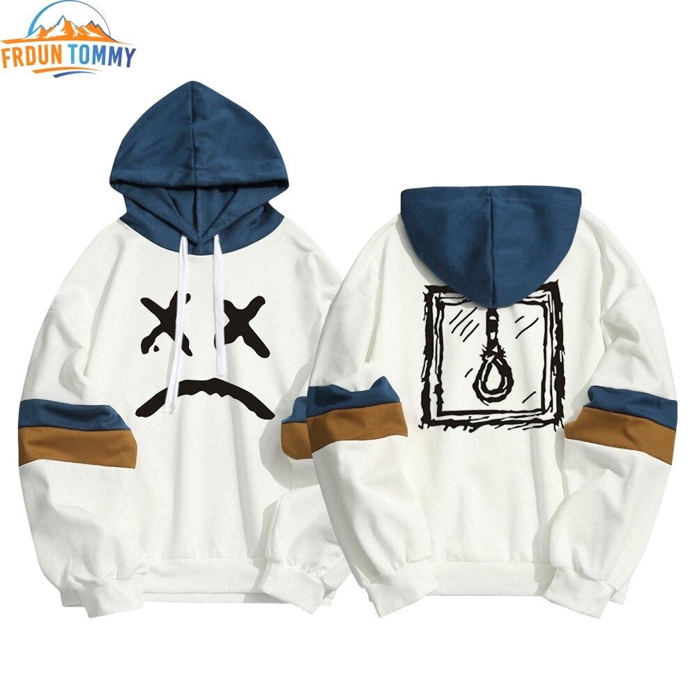 Spring Lil Peep Printing Hoodie Sweatshirt Kawaii Lil Peep Hoodies Men Women Hip Hop Streetwear Patchwork Pullover Sweatshirt