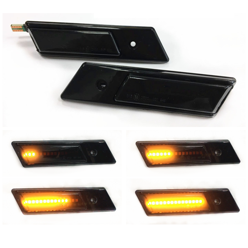 Suitable for <font><b>BMW</b></font> <font><b>E30</b></font> M3 E32 E34 1991 - 1996 Dynamic LED Indicator Side Marker Signal Accessories image