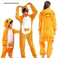 Kigurumi Kangaroo Onesies Pajamas Unisex Cartoon Anime Cosplay Costume Cute Animal Adult Pyjamas