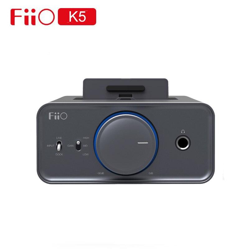 Fiio K5 amarrage casque amplificateur/DAC pour FIIO X3II X5II X7 E17K X5 MKIII ligne in/USB en balade Exclusive pour les joueurs FIIO