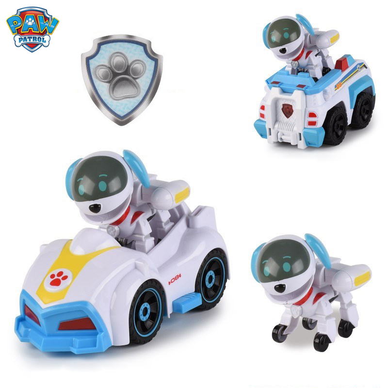 Paw Patrol Puppy Patrol Figure Toy Set Everest Ryder Paw Patrols PVC Action Figure Christmas Birthday Children Gift Toy
