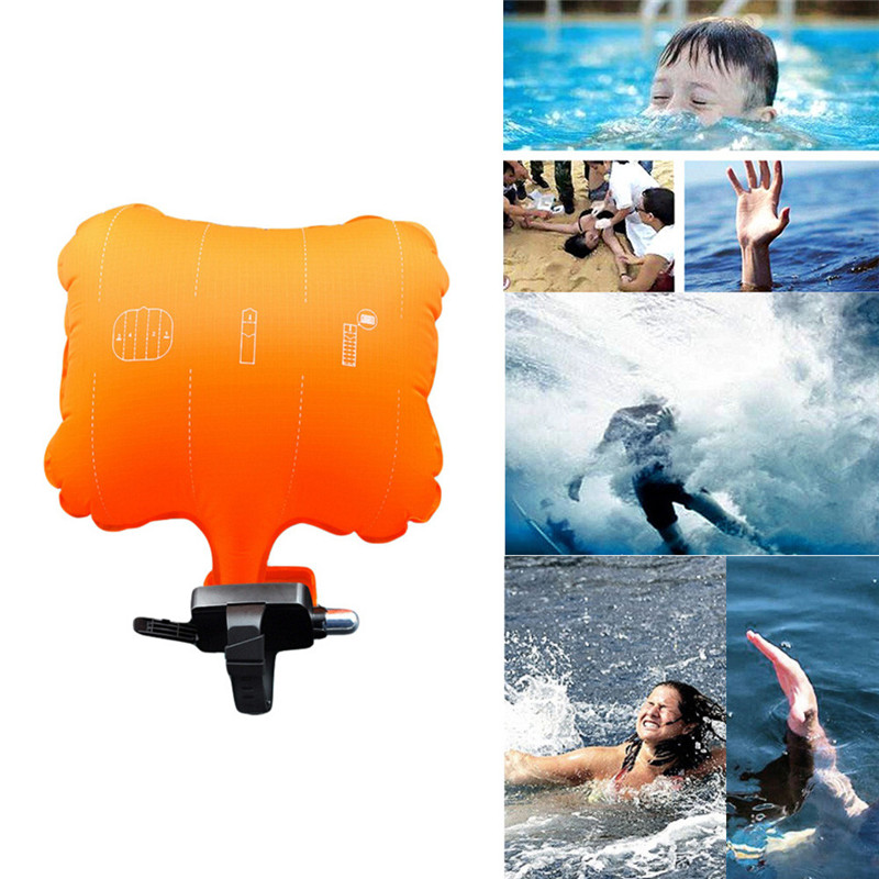 New Arrival Safety Rescue Device Floating Wristband Water Sports Aid Anti-Drowning Bracelet Wearable Swimming Emergency Tools