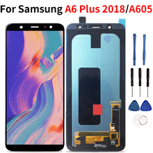Per Samsung Galaxy A6 Più Il 2018 LCD Display Touch Screen Digitizer Assembly Per Samsung A6 Più A6 A605 A605FD
