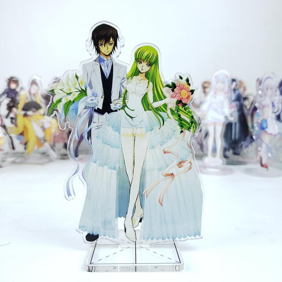 GEM Code Geass R2 CLAMP Lelouch Lamperouge /& Suzaku Kururugi PVC Figure Gift