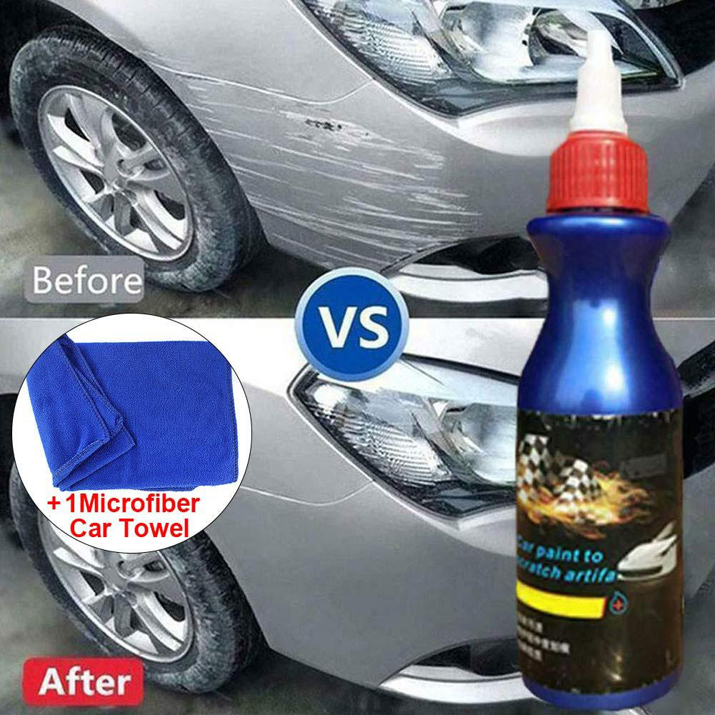 100g Vehicle Paint Care Repair Tool Scratch Remover Restorer With Towel Tool Maintenance Care Paint Polishes Car Exterior
