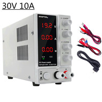 Mini Adjustable Laboratory Power Supply 30V 10A LED Display Adjustable Switching Regulator Dc Power Supply