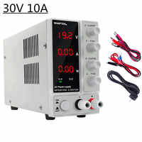 Mini Adjustable Laboratory Power Supply 30V 10A LED Display Adjustable Switching Regulator Dc Power Supply