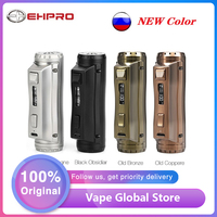 New Color Original Ehpro Cold Steel 100 TC Box MOD 120W E cig Vape Mod Power by 18650/20700/21700 battery vs Drag 2 / Mechman