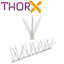 MH 03 TP 3 row pigeon spikes  bird spike on polycarbonat base   high quality solution for bird control spikes