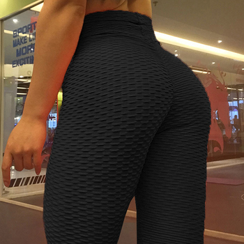 Women legging heart shape  Gym Exercise High Waist Fitness legging High elasticity Running Athletic Trousers push up Yoga pants 3
