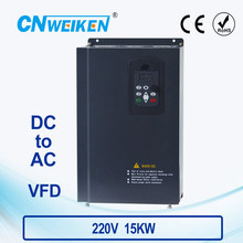 WK310 Vector Control frequency converter DC 200V-400V to Three-phase 220V 15kw solar pump inverter with MPPT control